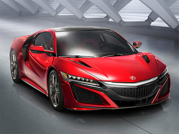2016 Acura NSX at werd.com