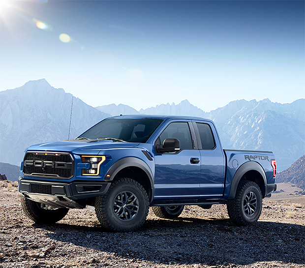 2017 Ford F-150 Raptor at werd.com