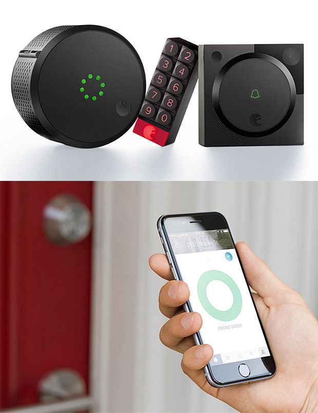 August Smart Home Access System at werd.com