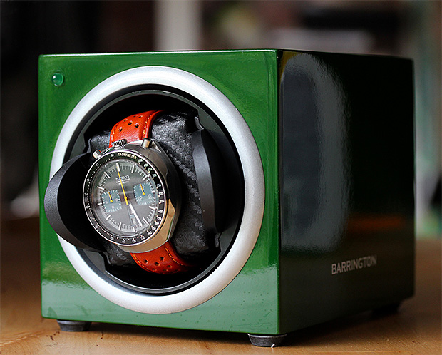 Barrington Single Watch Winder at werd.com