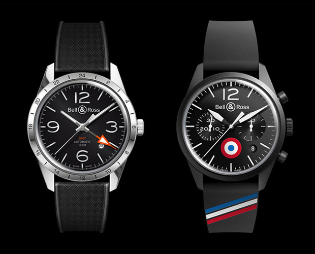 Bell & Ross Vintage BR 123 GMT & 126 Insigna at werd.com