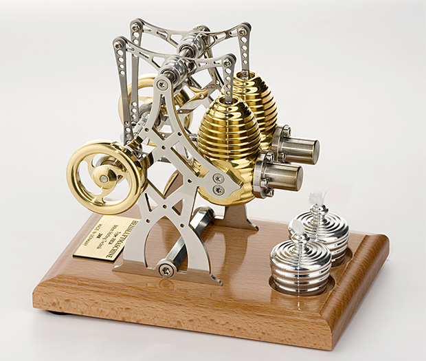 Böhm Stirling Engine Kit at werd.com