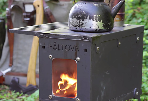 Fältovn Camping Stove at werd.com
