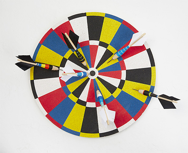 Fredericks & Mae Dartboard at werd.com