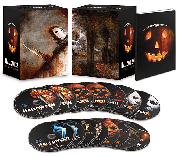 Halloween: The Complete Collection Limited Deluxe Edition Blu-ray at werd.com