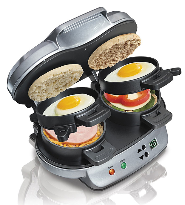 Hamilton Beach Dual Breakfast Sandwich Maker at werd.com