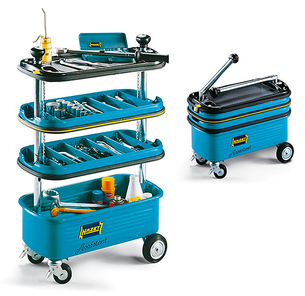 Hazet Collapsible Tool Trolley at werd.com