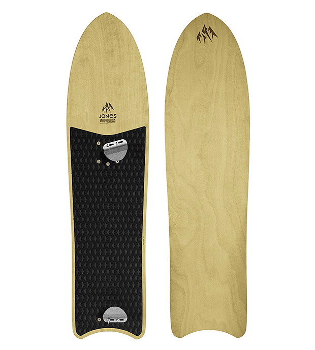 Jones Snowboards Mountain Surfer at werd.com