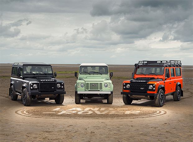 2015 Land Rover Limited Edition Trio of Defenders at werd.com