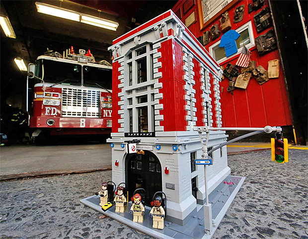 Lego Ghostbusters Firehouse HQ at werd.com