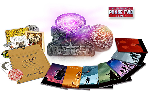 Marvel Cinematic Universe: Phase Two Collection at werd.com