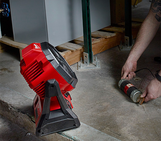 Milwaukee M18 Jobsite Fan at werd.com