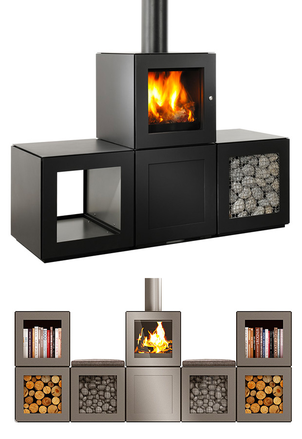 Speetbox Wood Stove System By Philippe Starck At Werd Com