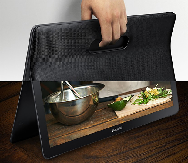 Samsung Galaxy View at werd.com