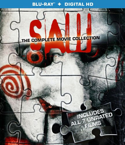 Saw: The Complete Movie Collection Blu-ray at werd.com