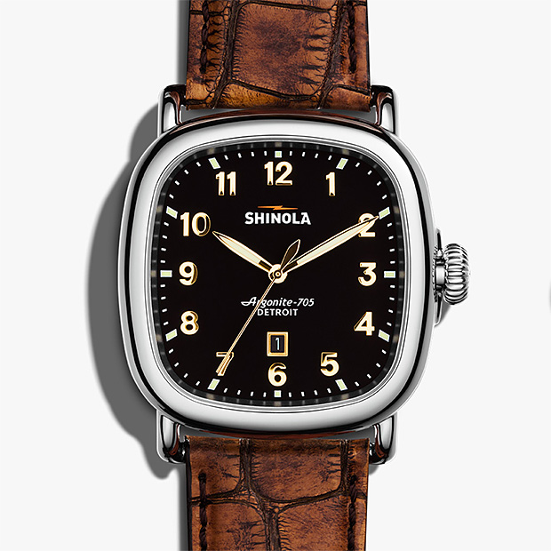 Shinola Muhammad Ali Center Watch at werd.com