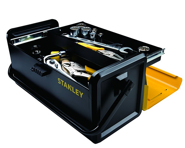 Stanley Metal Tool Box at werd.com