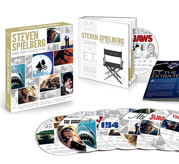 Steven Spielberg Director's Collection on Blu-ray at werd.com