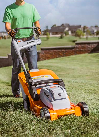 Stihl RMA 410 Battery powered Lawn Mower