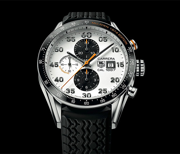 TAG Heuer Carrera McLaren 1974 Edition at werd.com