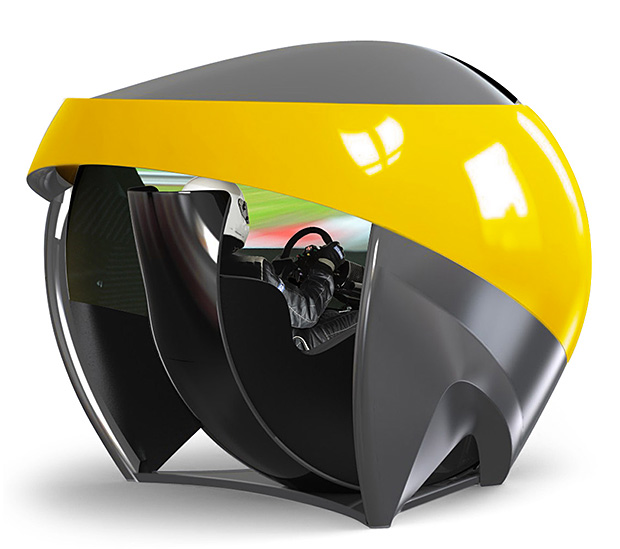TL3 Racing Simulator at werd.com