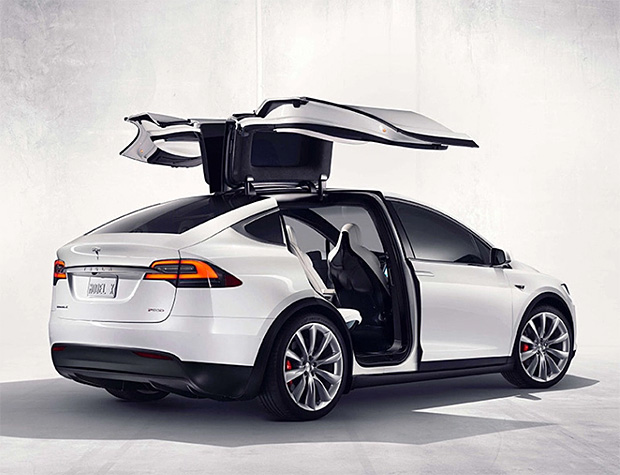 Tesla Model X at werd.com