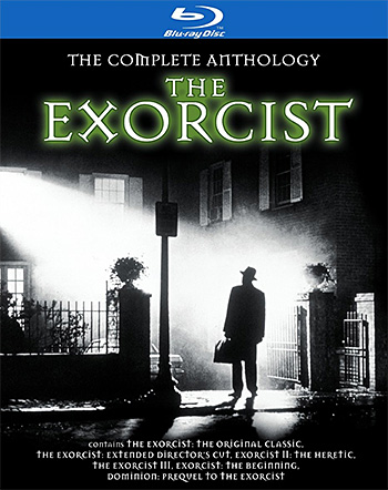The Complete Anthology: The Exorcist Blu-ray at werd.com
