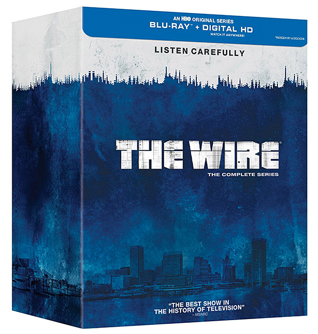 The Wire: Complete Series Blu-ray at werd.com