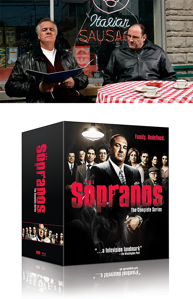The Sopranos: The Complete Series Blu-ray at werd.com