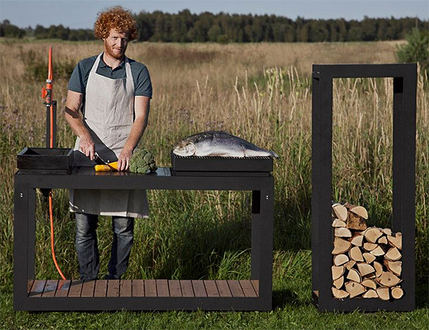 Ulaelu Outdoor Kitchen at werd.com