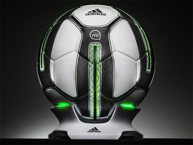 adidas miCoach Smart Soccer Ball at werd.com