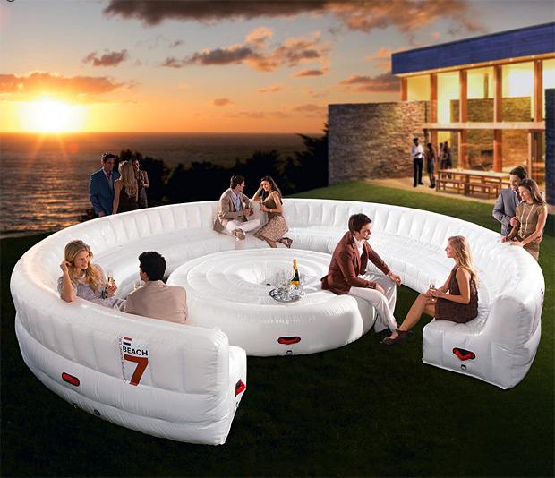 Airlounge Inflatable Seating at werd.com
