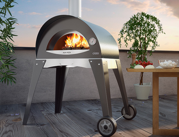 Alfa Pizza Forno Ciao Outdoor Pizza Oven at werd.com