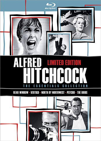 Alfred Hitchcock: The Essentials Collection Blu-ray at werd.com