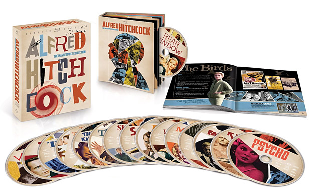 Alfred Hitchcock: The Masterpiece Collection at werd.com