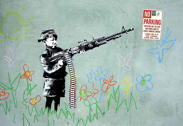Banksy: Myths & Legends at werd.com