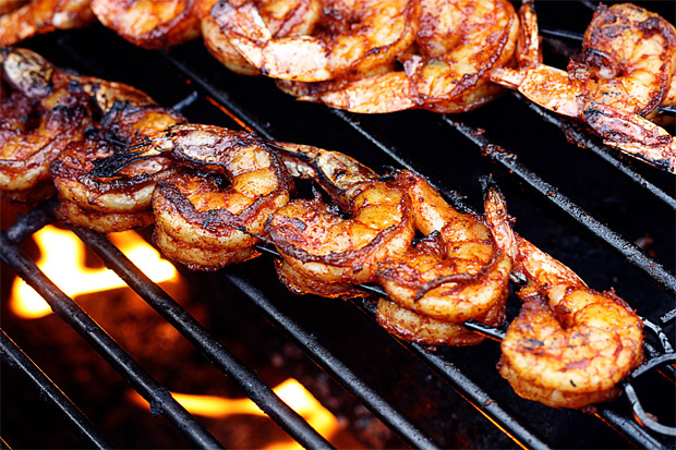 BBQ Grilled Shrimp at werd.com