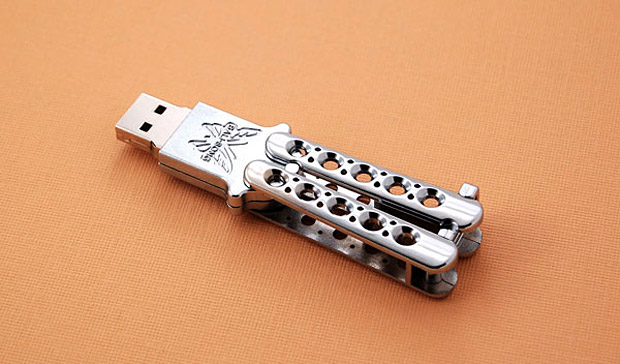 Benchmade Bali-Song USB Drive at werd.com