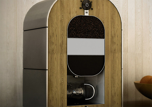 Bonaverde Roast-Grind-Brew Coffee Machine at werd.com