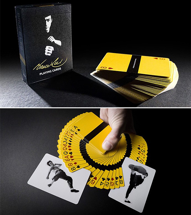Bruce Lee Playing Cards at werd.com