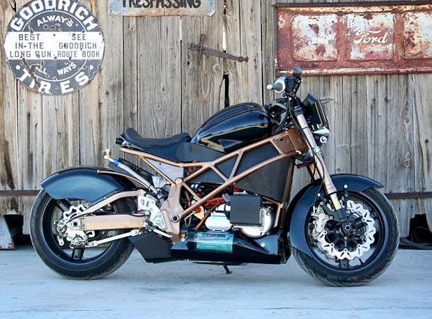 Brutus Electric Motorcycle at werd.com