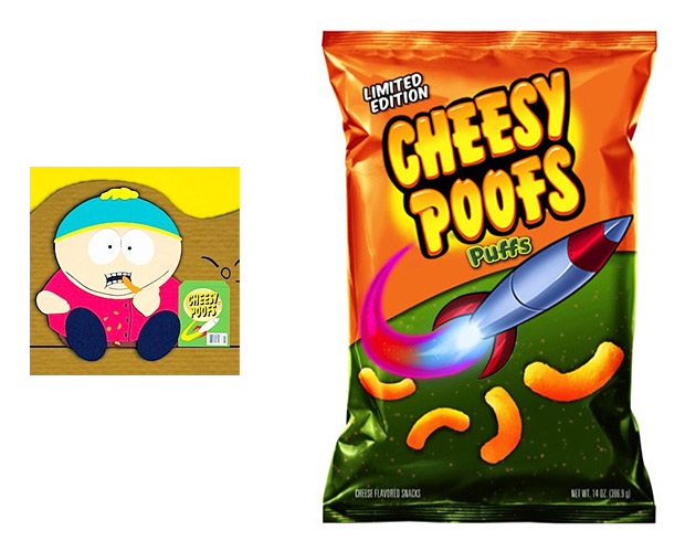Cheesy Poofs by Frito-Lay at werd.com