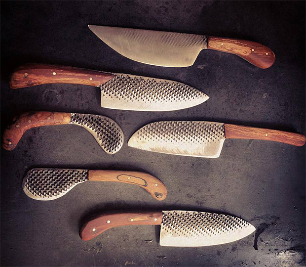 Chelsea Miller Knives at werd.com