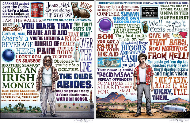 Coen Brothers Prints at werd.com