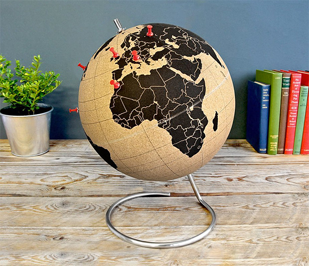 Cork Globe at werd.com