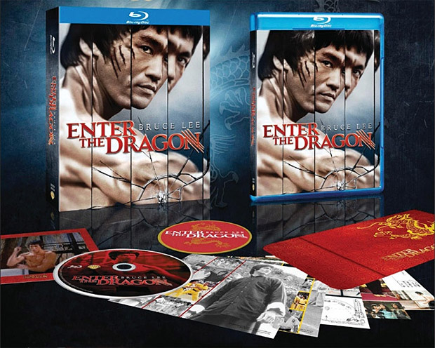 Enter the Dragon: 40th Anniversary Blu-ray at werd.com