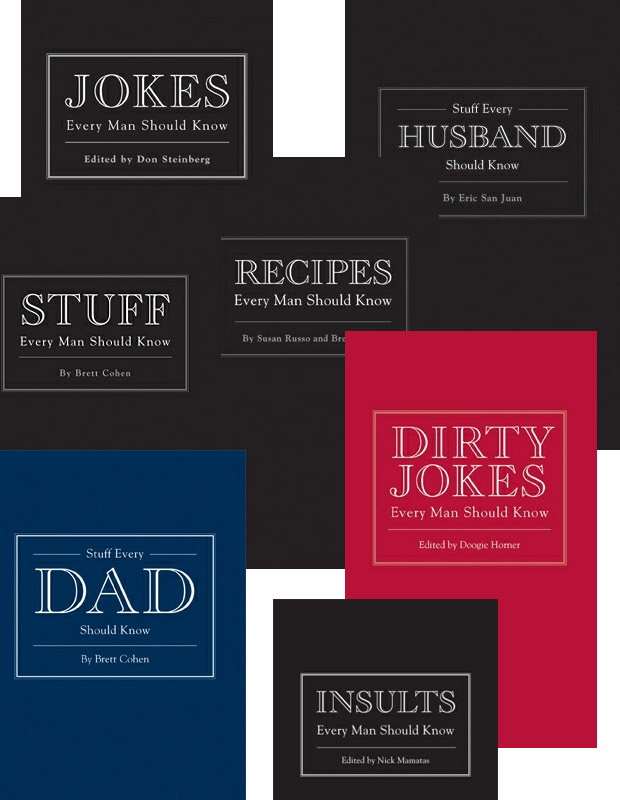 Stuff Every Man Should Know Series at werd.com