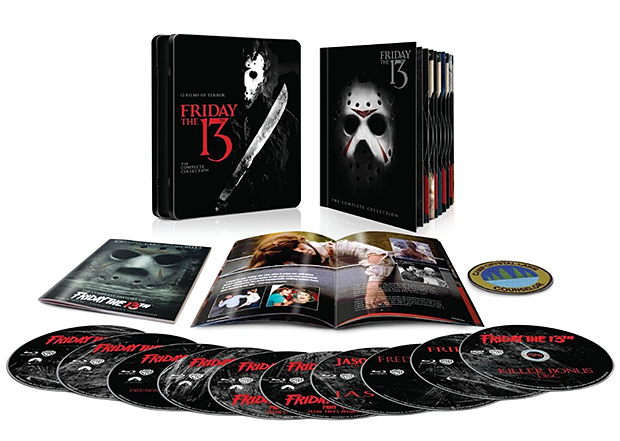 Friday the 13th: The Complete Collection Blu-ray at werd.com