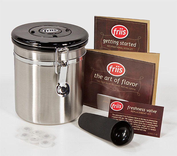 Friis Coffee Vault at werd.com