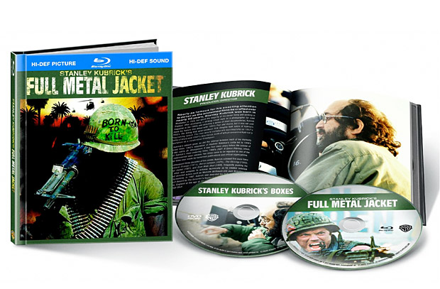 Full Metal Jacket 25th Anniversary Blu-ray at werd.com